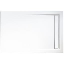 SCHULTE Duschwanne »ExpressPlus«, BxT: 90 x 100 cm, alpinweiß/chromfarben
