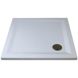 BREUER Duschwanne »Flat Line Design«, BxT: 100 cm x 100 cm