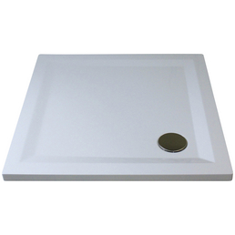 BREUER Duschwanne »Flat Line Design«, BxT: 100  x 100 cm