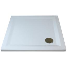 BREUER Duschwanne »Flat Line Design«, BxT: 100 x 100 cm, weiß