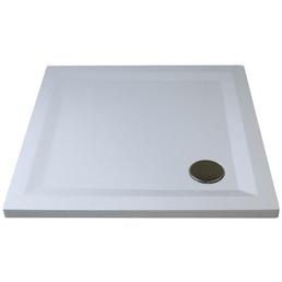 BREUER Duschwanne »Flat Line Design«, BxT: 90 cm x 90 cm