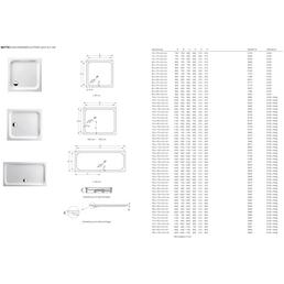 BETTE Duschwanne »Supra«, BxT: 90 cm x 90 cm