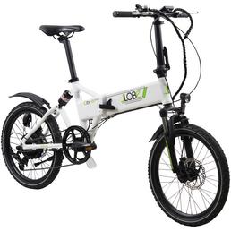 """LLOBE E-Bike »City III«, 20"""", 7-Gang, 10.4 Ah"""