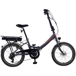 "TELEFUNKEN E-Bike »Kompakt F810«, 20"", 7-Gang, 9 Ah"