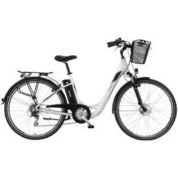 "TELEFUNKEN E-Citybike »RC820 Multitalent«, 28"", 7-Gang, 10.4 Ah"