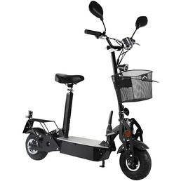 DIDI THURAU E-Cityroller »»Basic«, 20 km/h«, 20 km/h (max.), schwarz