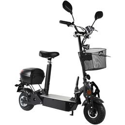 DIDI THURAU E-Cityroller »Safety Plus, 20 km/h«, 20 km/h (max.), schwarz