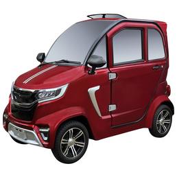 DIDI THURAU E-Kabinenfahrzeug »eLazzy Premium«, max. 45 km/h, Reichweite: 70 km, rot