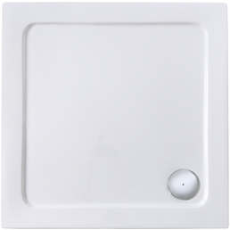 SANOTECHNIK Eckduschwanne, BxT: 90 x 90 cm, weiß