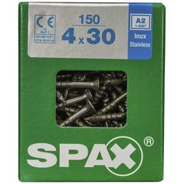 SPAX Edelstahlschraube, T-STAR plus, 150 Stk., 4 x 30 mm