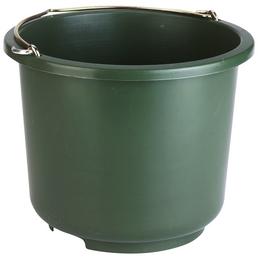 Eimer, für Stall und Hof, aus Kunststoff, olivgrün