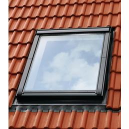VELUX Eindeckrahmen EDZ, grau, geeignet für alle VELUX-Fenster der passenden Fenstergröße
