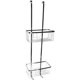 CORNAT Einhängekorb »für Duschwand«, BxH: 21 x 69,5 cm, Edelstahl