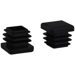 HETTICH Einsteckgleiter, Kunststoff, Schwarz, 20 x 16 x 20 mm
