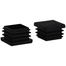 HETTICH Einsteckgleiter, Kunststoff, Schwarz, 30 x 20 x 30 mm