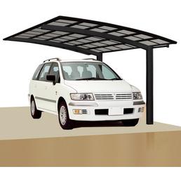 XIMAX Einzelcarport »Portoforte«, Außenmaß BxT: 270,4 x 495,4 cm, schwarz
