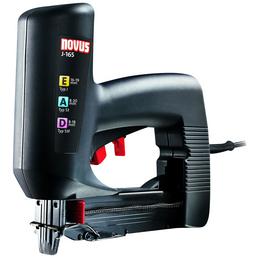 NOVUS Elektro-Tacker »J-165«, Für Klammerbreite: 11,3 mm, BxHxL 5,6 cm x 5,6 cm x 23,3 cm