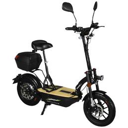 DIDI THURAU Elektrofaltroller »Eco-Tourer Safety«, 20 km/h (max.), schwarz