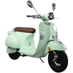 DIDI THURAU Elektroroller »Sizilia«, max. 45 km/h, Reichweite: 45 km, mintgrün/braun