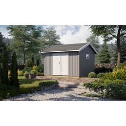GARTENPRO Elementhaus »Nordic«, B x T: 380 x 438 cm, Spitzdach