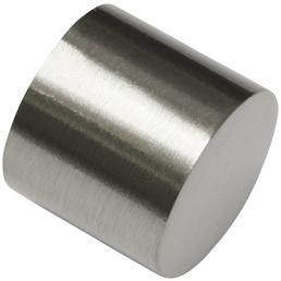 GARDINIA Endkappe, Chicago, Kappe, 20 mm, 2 Stück, Silber