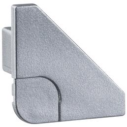 PAULMANN Endkappe »Delta-Profil«, BxHxL: 0,8 x 2 x 2cm, aluminiumfarben