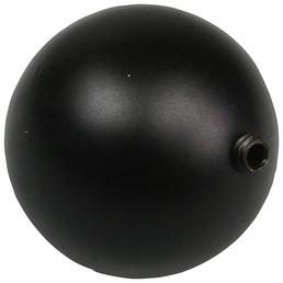 LIEDECO Endstück, Bologna, Kugel, 16 mm, 2 Stück, Schwarz
