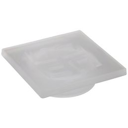 TIGER Ersatz-Seifenschale »Items«, Höhe: 2,1 cm, weiß