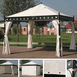 SIENA GARDEN Ersatzdach für Pavillon, quadratisch, B x T: 350 x 350 cm