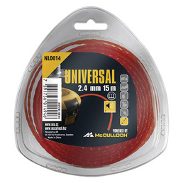 UNIVERSAL Ersatzfadenspule, Nylon, rot