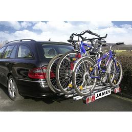 EUFAB Erweiterung für Fahrradheckträger, Aluminium