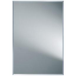 KRISTALLFORM Facettenspiegel »Gennil«, rechteckig, BxH: 55 x 80 cm, silberfarben