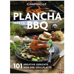 CAMPINGAZ Fachbuch »Premium Plancha meets BBQ Kochbuch«, Hardcover, 192 Seiten