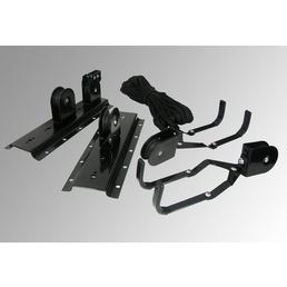 EUFAB Fahrrad-Deckenlift, schwarz