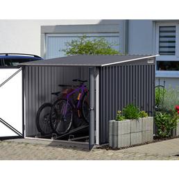 TEST RITE tepro GmbH Fahrradbox, aus Stahlblech, 203x162,5x202,1cm (BxHxT), 0 Liter