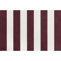 GO/ON! Fallarmmarkise, BxT: 250x150 cm cm, bordeauxrot/weiss gestreift