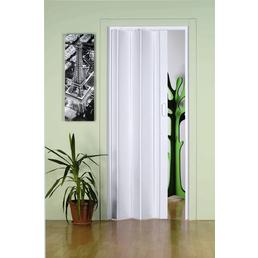 FORTE Falttür »Monica«, Dekor: Weiß, ohne Fenster, Höhe: 204  cm