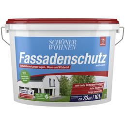 SCHÖNER WOHNEN Fassadenfarben »Fassadenschutz«, weiß, matt, 10 l