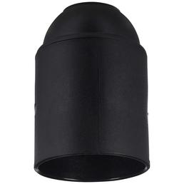 KOPP Fassung, Kunststoff, E27, schwarz