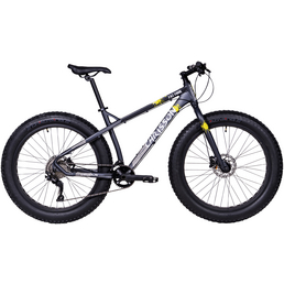 CHRISSON Fatbike »Fat Four«, 26 Zoll, 10-Gang, Unisex