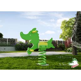 WEKA Federwippe »Tabaluga«, BxHxT: 95,1 x 86 x 22 cm, grün