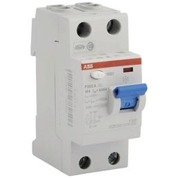 ABB Fehlerstromschutzschalter, 2-polig, Grau, 25 A