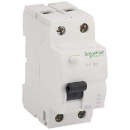 Schneider Electric Fehlerstromschutzschalter, 2-polig, Weiß, 25 A