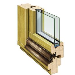 RORO Fenster »B68 FI«, Fichtenholz, weiß, Glasstärke 24mm