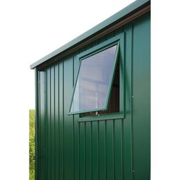 BIOHORT Fenster »Europa«, Stahlblech | Plexiglas