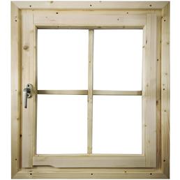 KARIBU Fenster für Gartenhäuser »28 mm«, BxLxH: 79,5 x 69 x 6 cm, Holz