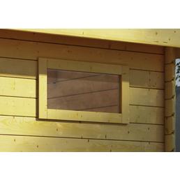 KARIBU Fenster für Gartenhäuser »38 mm«, BxH: 85 x 44 cm, Holz