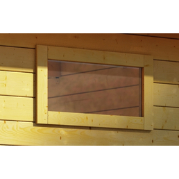 WOODFEELING Fenster für Gartenhäuser, B x H: 85  x 44  cm