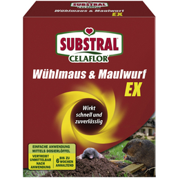 SUBSTRAL CELAFLOR Fernhaltemittel »Celaflor Wühlmaus & Maulwurf Ex«, Granulat, 150 g