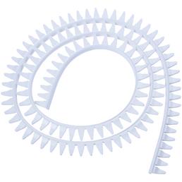 CORNAT Fertigprofil, Silikon, weiß